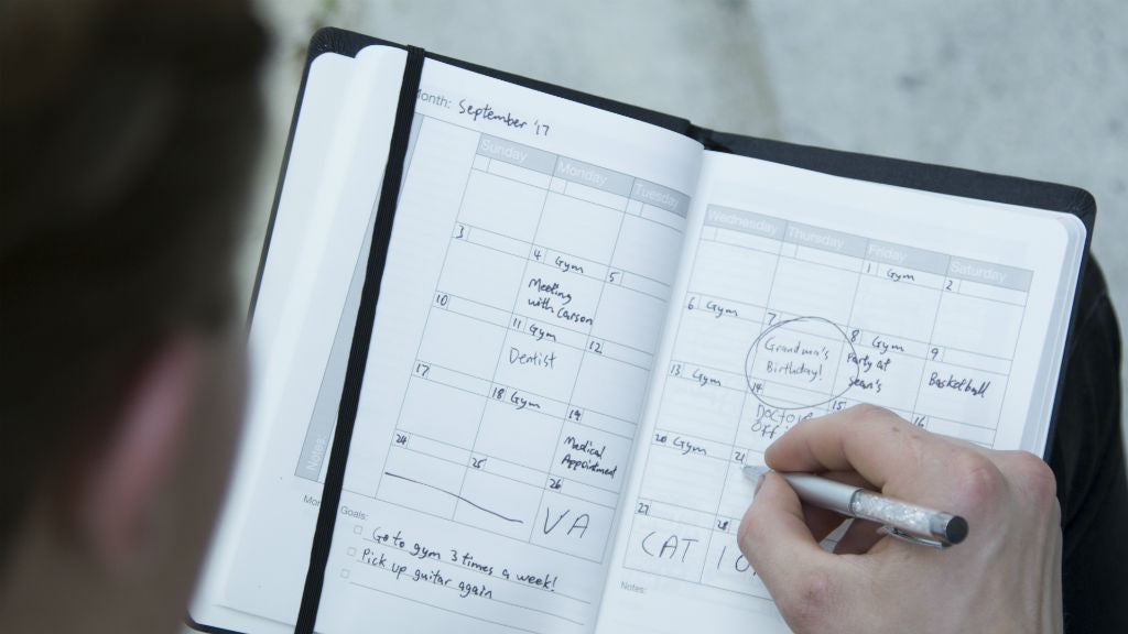 Eco planner notebook by modest mark