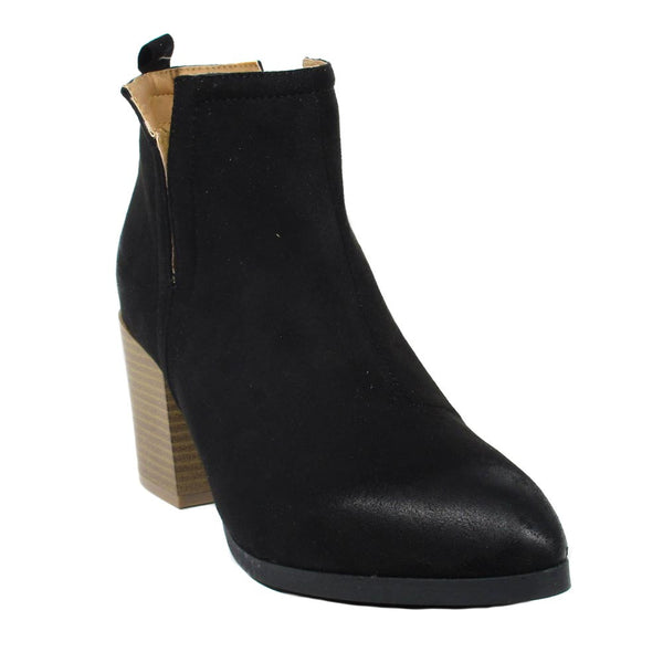 Alandra - Cut-Out Block Booties