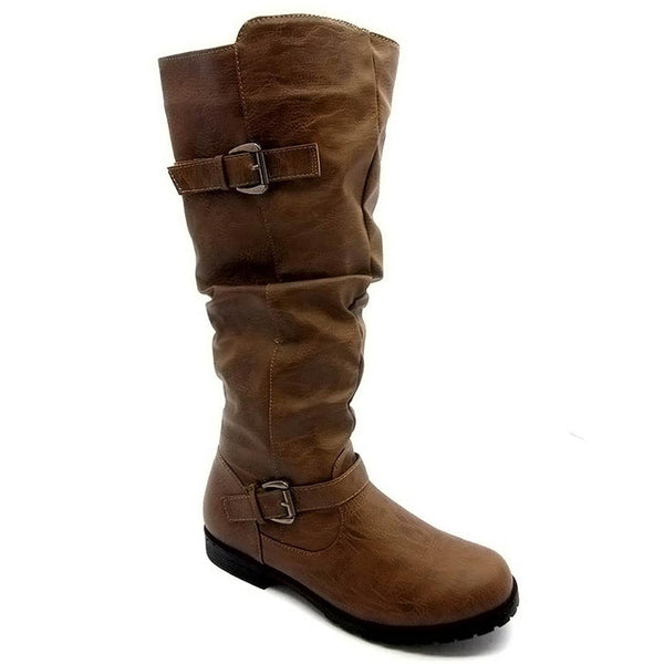 Ahito - Double Buckle Boots