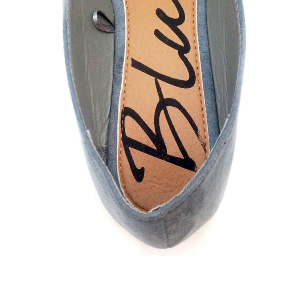 Atonce - Flats Ballerinas - Comfort Trendz - Flats - Blue Suede Shoes NY