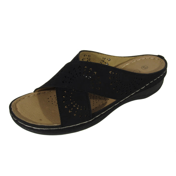 COVAM 4 - Slip On Perforated Wedges