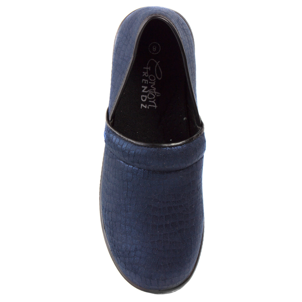 Clogger Shine - Comfort Loafers - Comfort Trendz - Comforts - Blue Suede Shoes NY