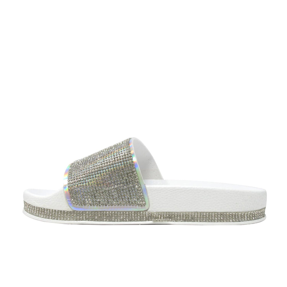 Women's rhinestone Ely Diamond - Slide Fashion Sandals