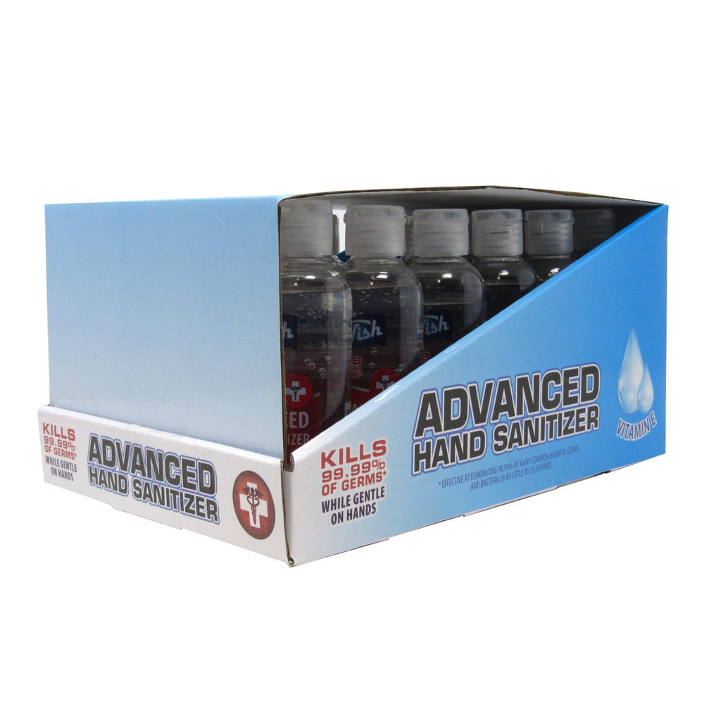 Advanced Hand Sanitizer 100ml (3.38oz) 75% Ethyl Alcohol