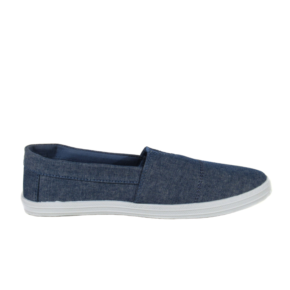 JAC TIM MF- Slip On Flat Sneakers - Comfort Trendz - Flats - Blue Suede Shoes NY