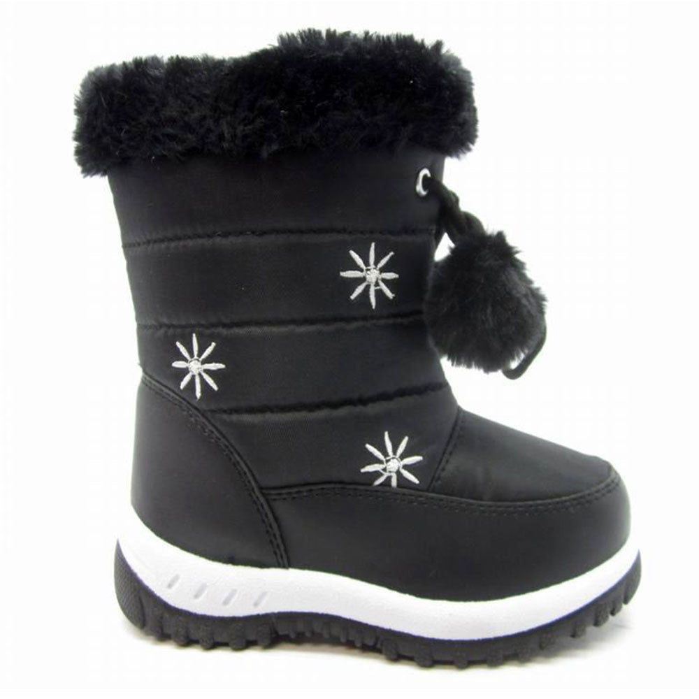 K Snowfur - Fur Trim Snow Boots - Blue Suede Shoes NY - Boots - Blue Suede Shoes NY
