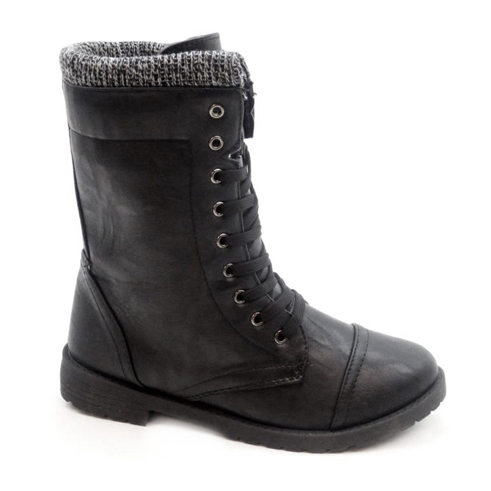 Millie Sweat - Combat Boots - Blue Suede Shoes NY - Boots - Blue Suede Shoes NY