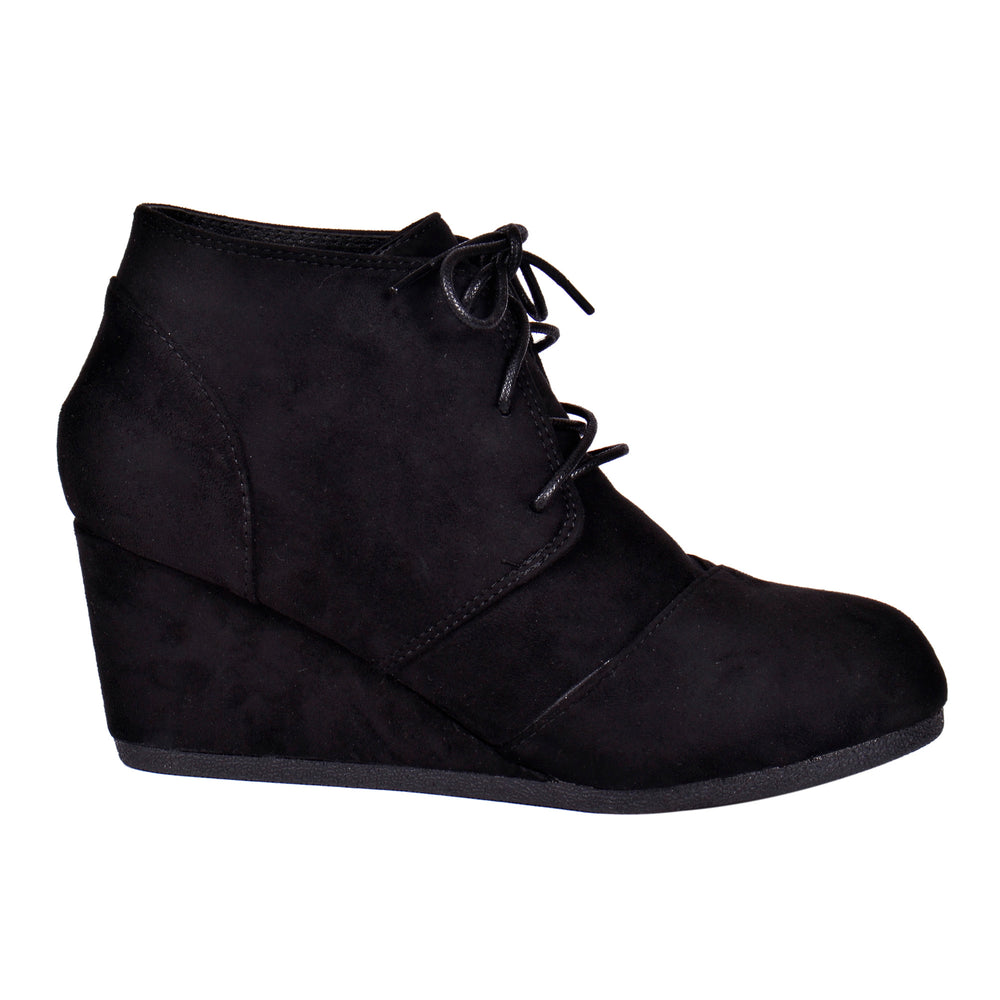 Skye - Platform Ankle Booties - Blue Suede Shoes NY - Boots - Blue Suede Shoes NY