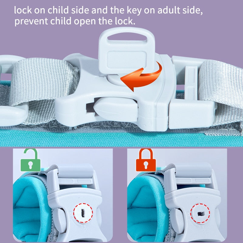 Baby Care Package, Baby Wrist Link - Safety Harness