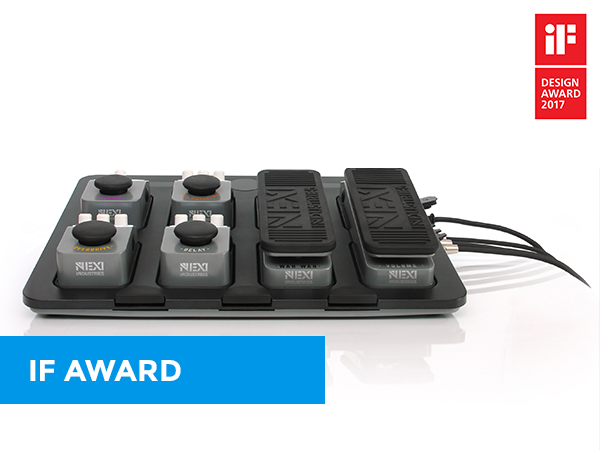 IF DESIGN AWARD for NEXI Industries Pedal Board