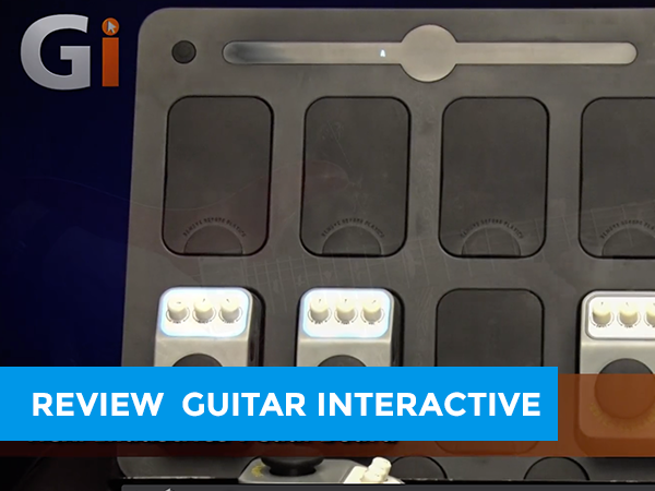 Guitar Interactive reviewing NEXI Industries Pedal Board