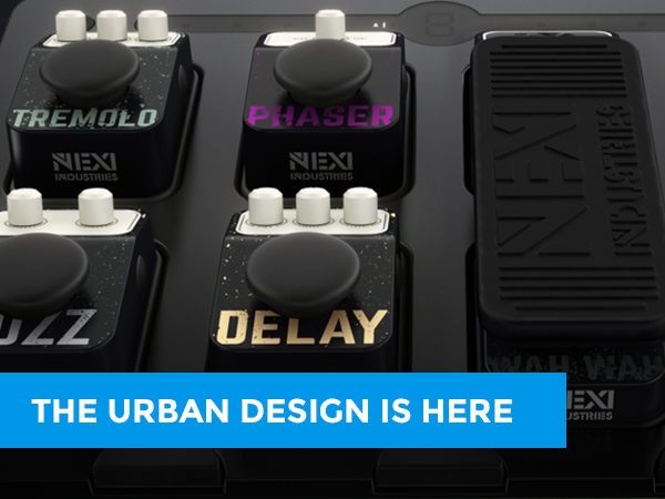NEXI Industries presents; URBAN Design By populair demand