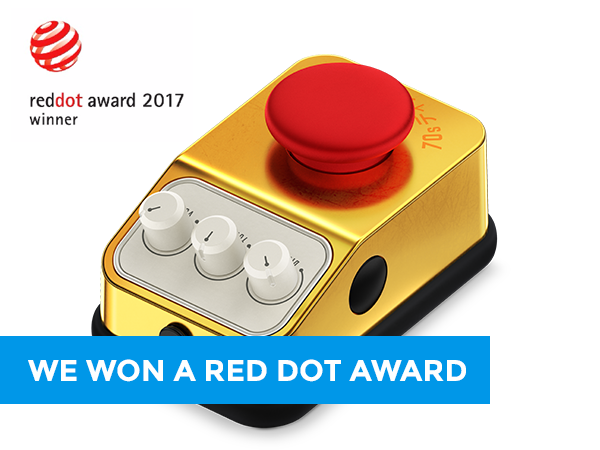 We won a Red Dot Award!
