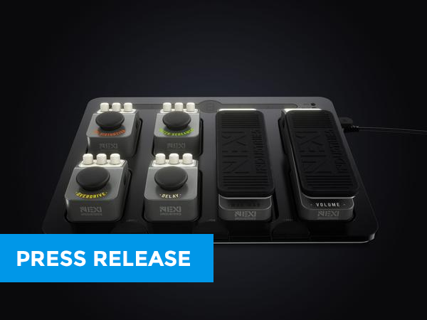 NEXI offers 'The Solution' to Guitar Pedalboard Troubles