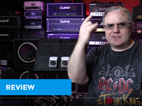 Review and Demo from the The Tone King