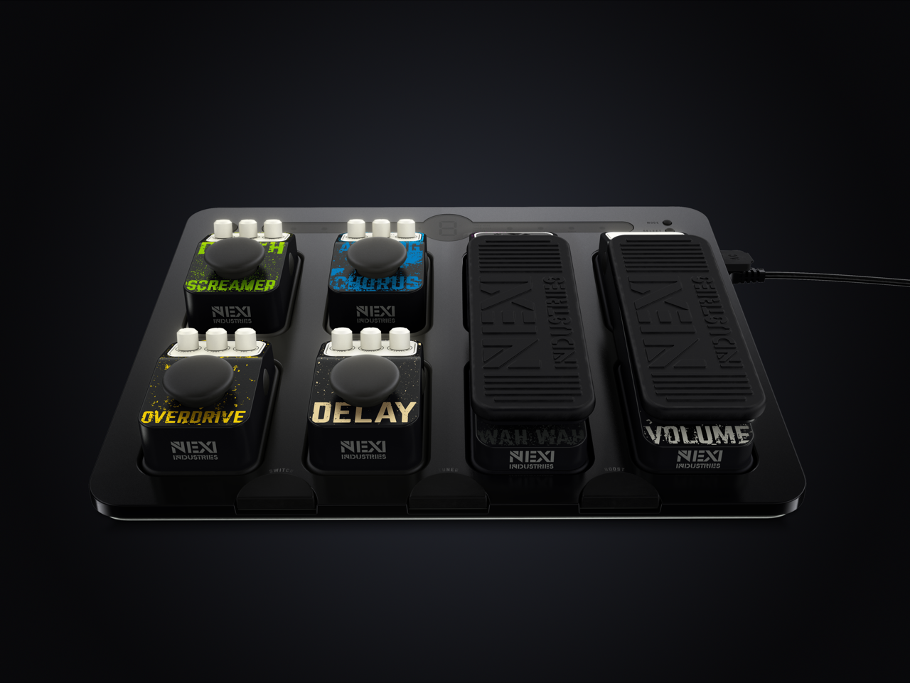Need for Guitar Effects Pedals Boards - Blessed Events Weddings
