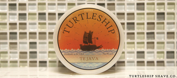 Turtleship shave co Quality Shaving Soap Te Java