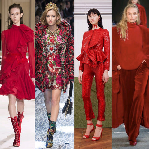 GemTye Red Fall Winter Trends