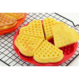 Heart Shape Waffle Mold 5-Cavity Silicone Oven Pan Baking Cookie Cake Muffin Cooking Tools Kitchen Accessories Supplies,UrbanLifeShop