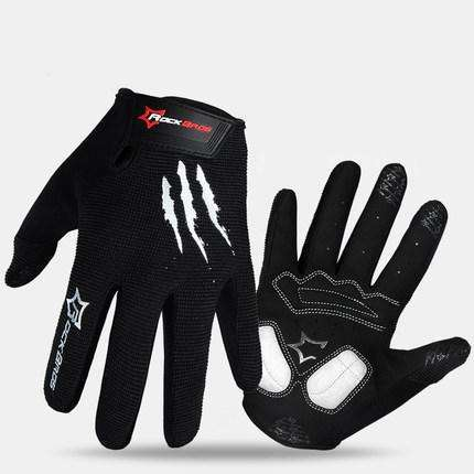 ROCKBROS Cycling Gloves Sponge Pad Long Finger Motorcycle Gloves For Bicycle Mountain Bike Glove Touch Screen MTB Gloves,UrbanLifeShop