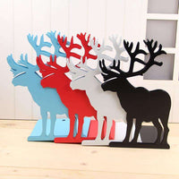 2 pieces/lot Bookend Bookshelf Gift Deer Iron Desk Organizer Korean Fashion Cute Metal Bookends Book Stationery Support Holder,UrbanLifeShop