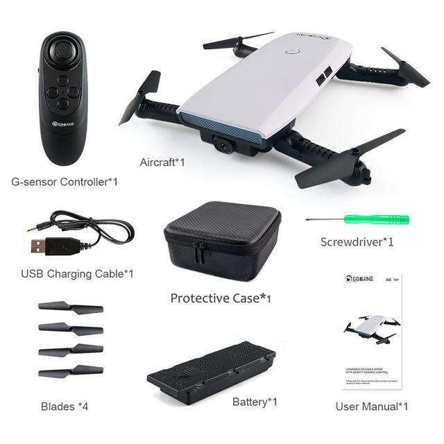Eachine E56 720P WIFI FPV Selfie Drone With Gravity Sensor APP Control Altitude Hold RC Quadcopter Toy RTF VS JJRC H47,UrbanLifeShop