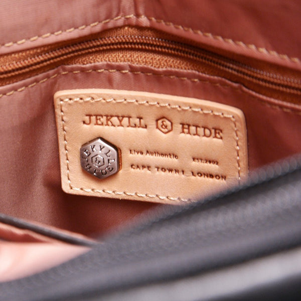 Jekyll & Hide Oxford Compact Handbag Brown