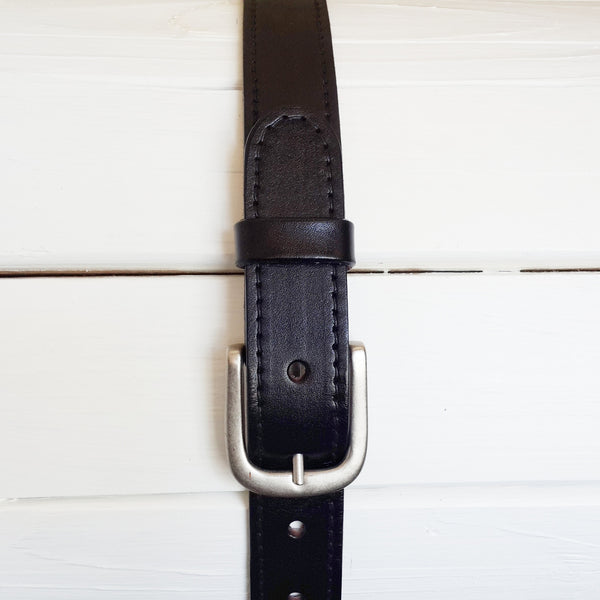Totems 32mm Leather Belt