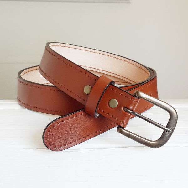 VSB17 Totems 38mm Leather Belt