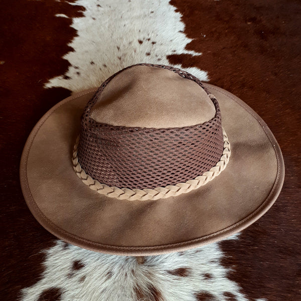 Breezy Suede Leather Hats