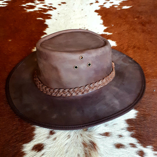 Oiled Leather Hats