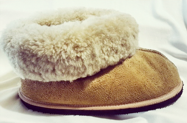 Fur Favourite Sheepskin Slippers