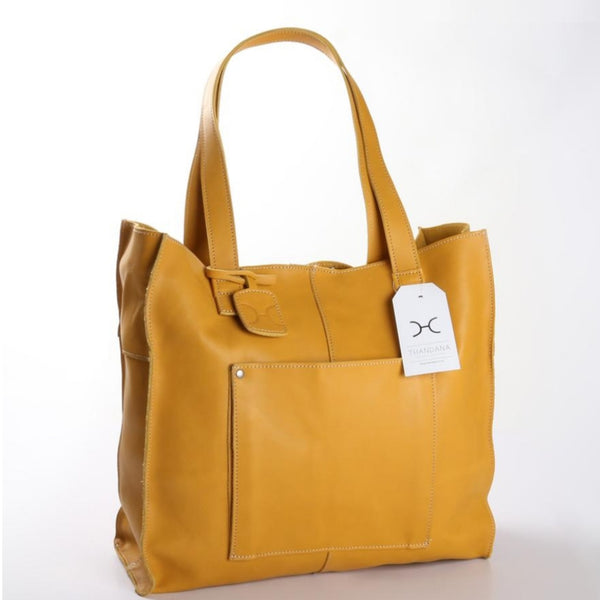 Thandana Tote in Mustard