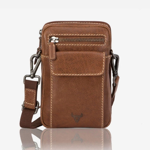 Brando Crossbody Travel Bag Vintage Tan