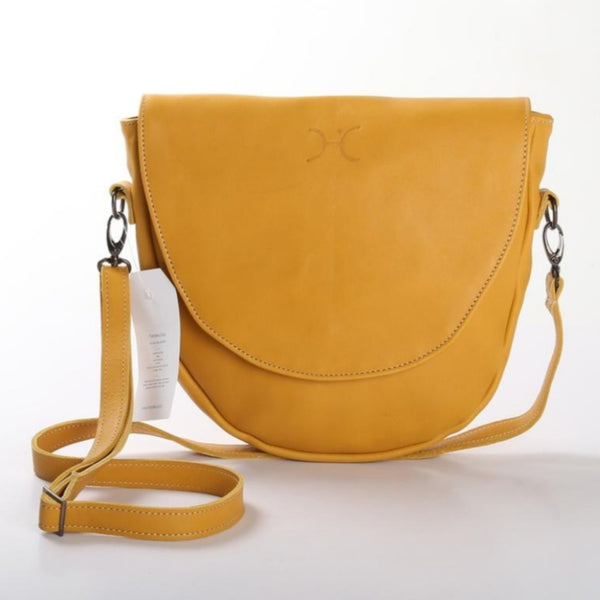 Saddle Bag by Thandana in Mustard