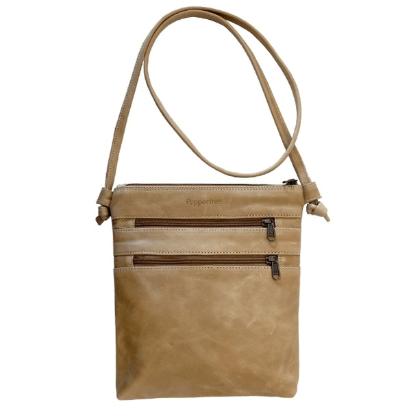 Knotted Bag by Peppertree in Hazelnut