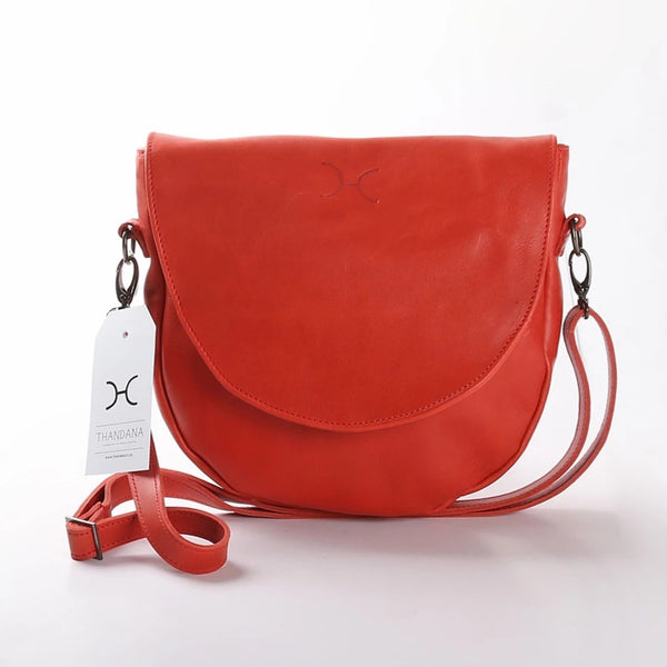 Saddle Bag by Thandana in Red