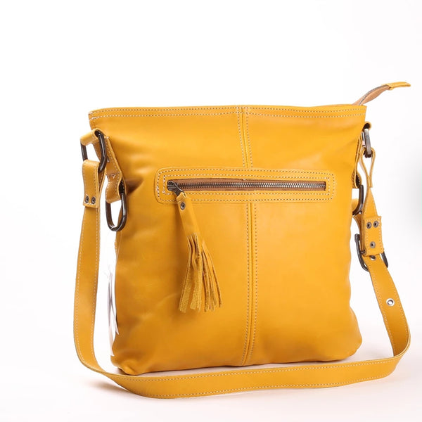 Messenger Bag by Thandana in Mustard
