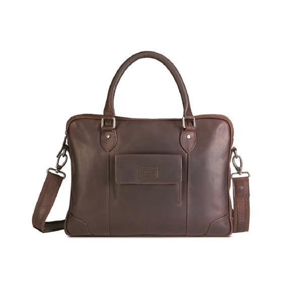 Silviano Top Double Handle Laptop Bag