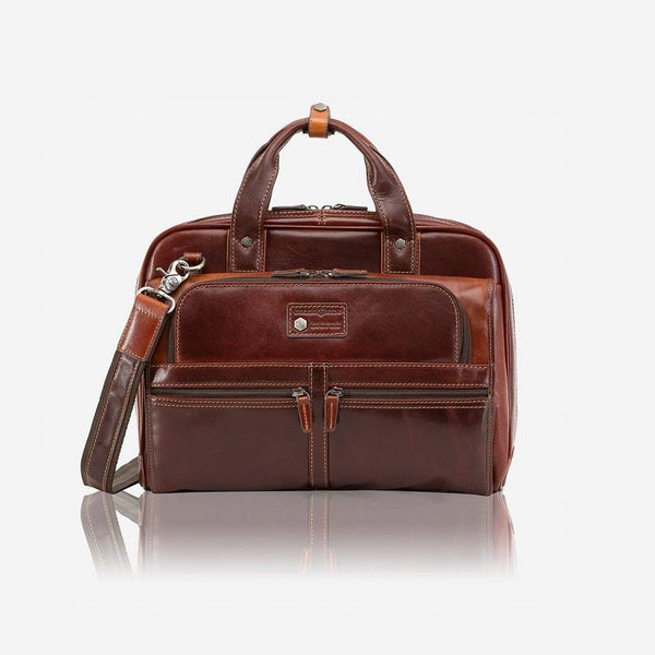 "Jekyll & Hide 15"" RFID Laptop Briefcase"