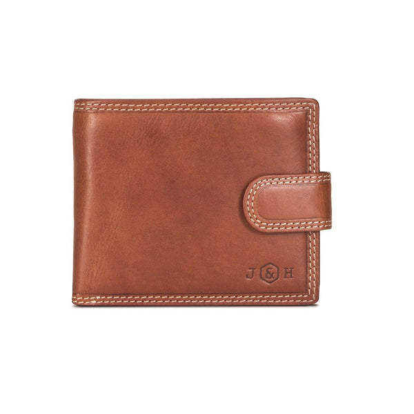 Jekyll & Hide Texas 7 Card RFID Flip With Coin Pouch