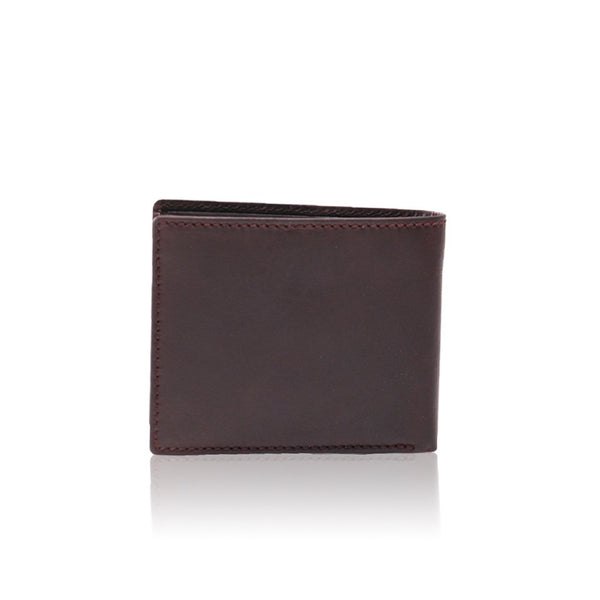 6645 Silviano Multi Card & Coin Raw Edge Wallet
