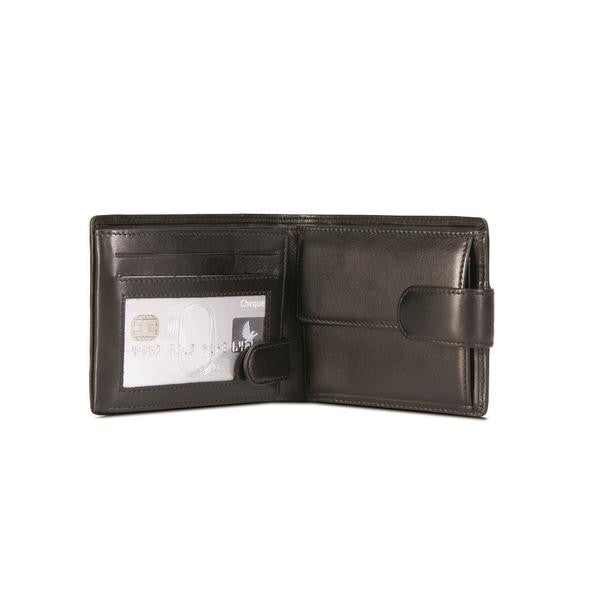 Tri-fold RFID with Coin Pouch