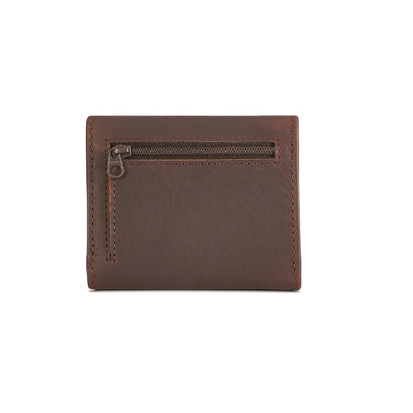 Silviano Trifold Raw Edge Wallet