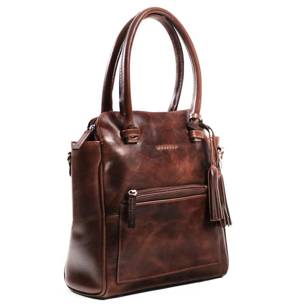 Dijon Nouveau Bag Burnish Dark Cognac