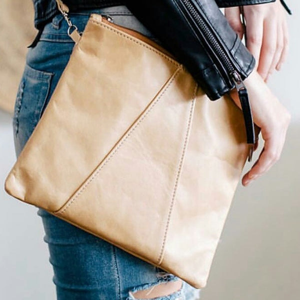 Crossover Bag by Thandana in Hazelnut