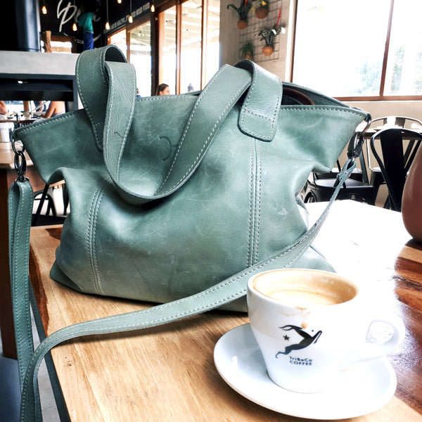 Jax Bag in Trinidad Green by Thandana