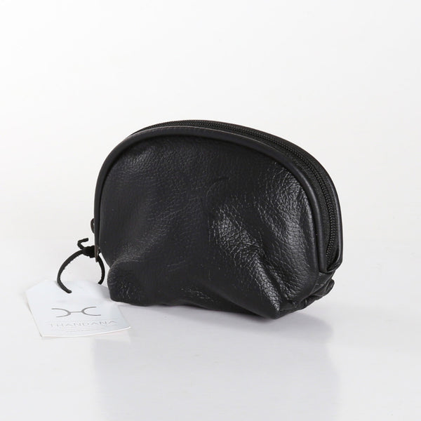 Leather Makeup Bag by Thandana