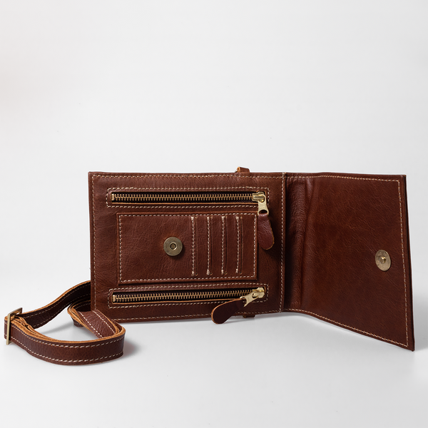 Urban Cell Phone Sling Brown