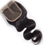 Lace Closure Brazilian Body Wave Closure Middle Part 1pc Remy Hair